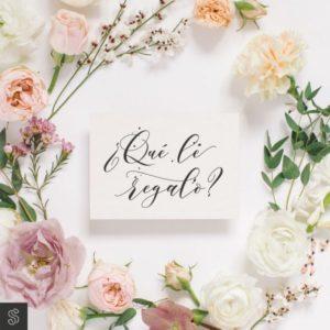 6 ideas para regalar en tu boda