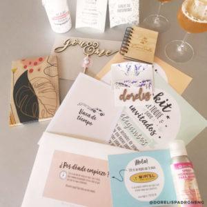 Foto caja sorpresa de boda