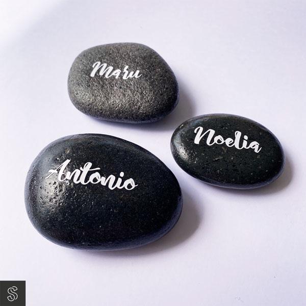 marca sitios en piedras