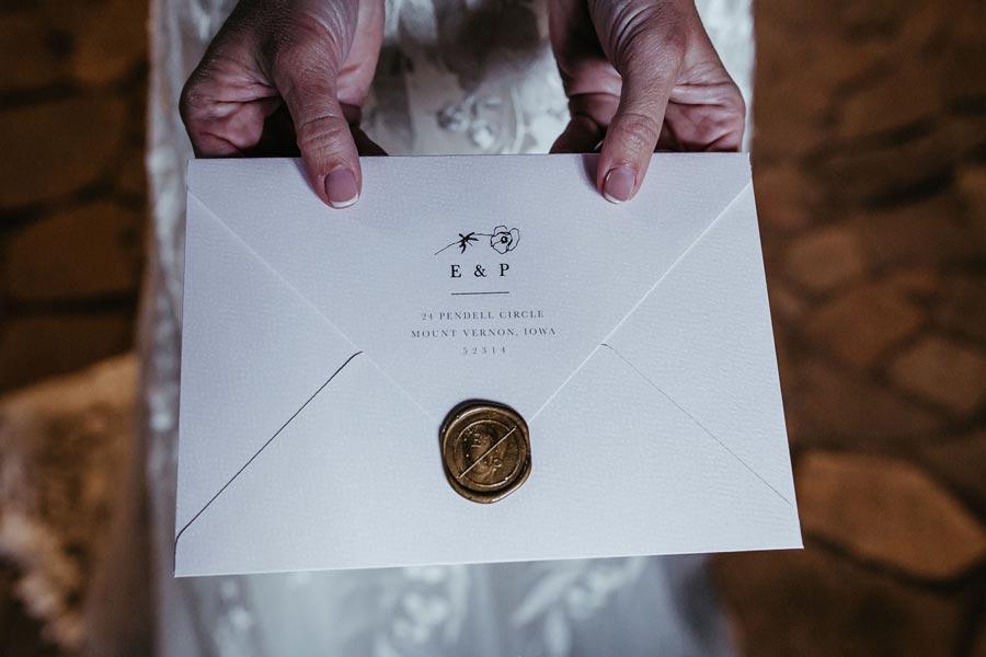 Invitaciones boda romántica