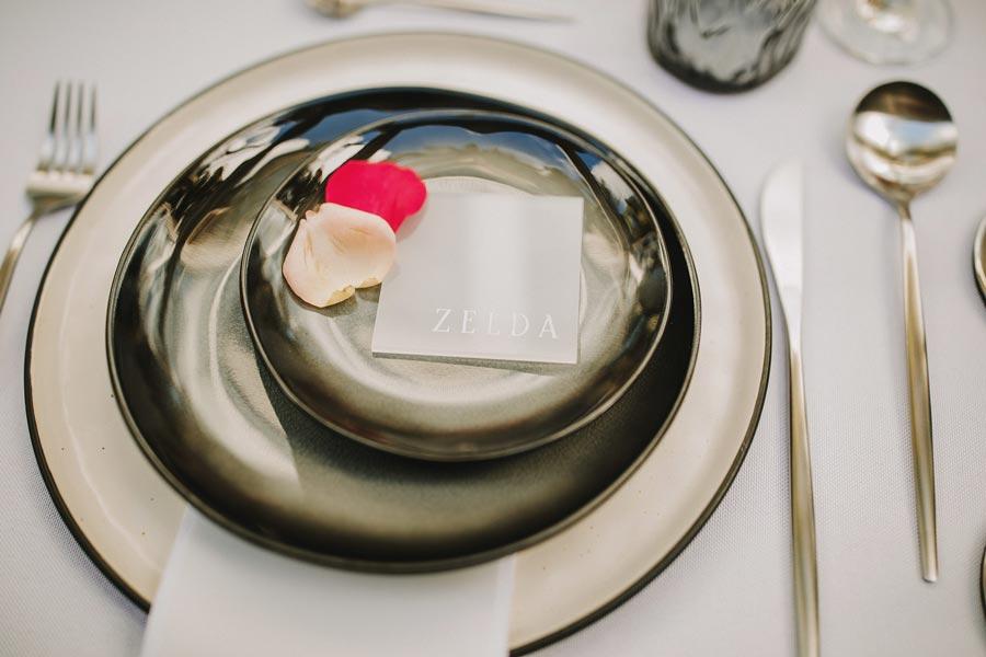 marca sitios de boda minimalista y elegante