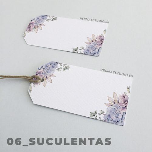 etiqueta decorativa de boda